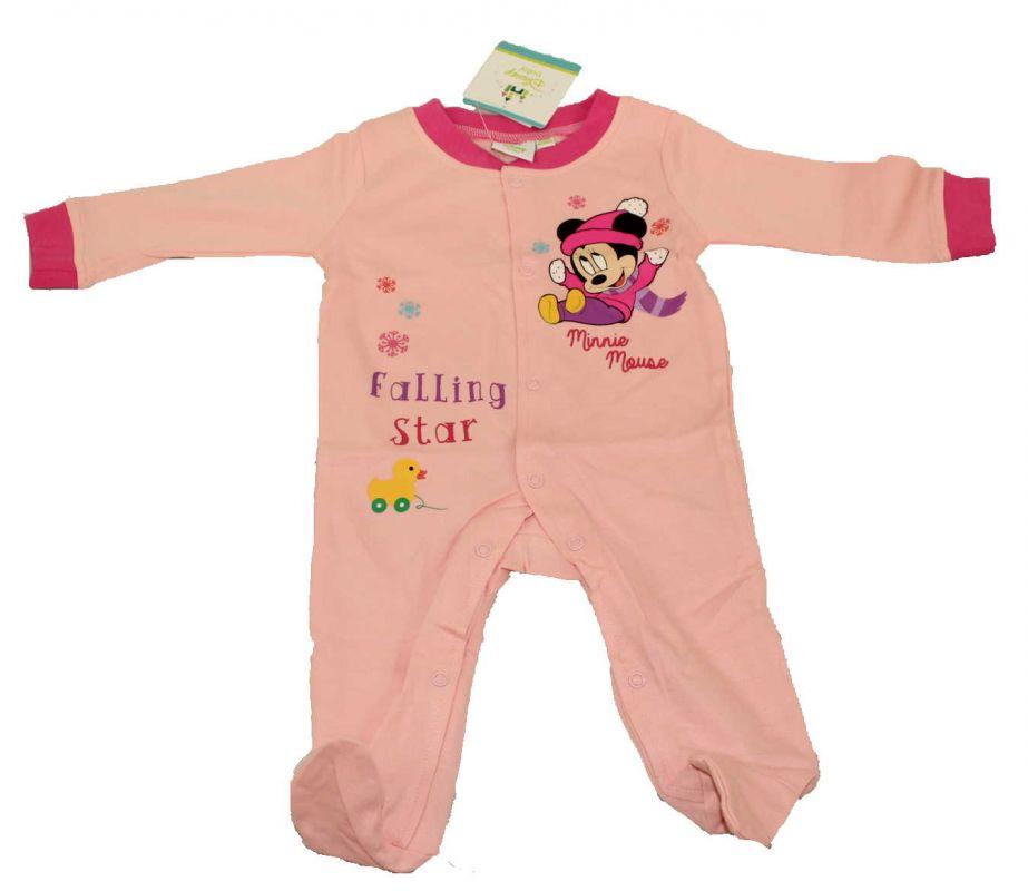 Overal, overálek, pyžamo DINSNEY-MINNIE - sv.růžový Disney