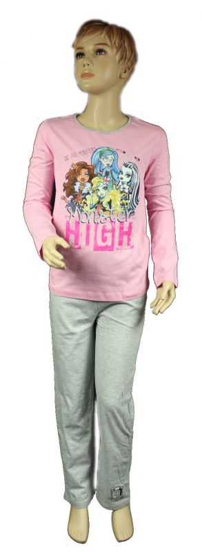 PYŽAMO - MONSTER HIGH - sv.růžové Mattel