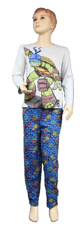Pyžamo Turtles dětské pyžamo Želvy Ninja Nickelo