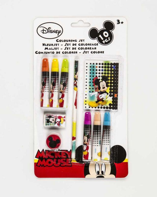 SADA NA MALOVÁNÍ - 10 KS - MICKEY MOUSE Disney