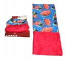Šátek, nákrčník - CARS - červeno-modrý Disney