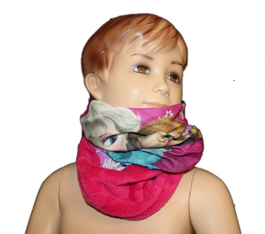 Šátek, nákrčník - FROZEN - růžový Disney