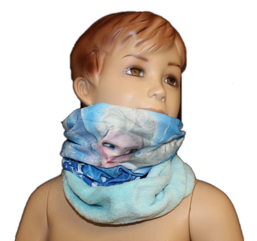 Šátek, nákrčník - FROZEN - tyrkysový Disney