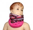 Šátek, nákrčník - FURBY - tm.růžový