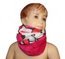 Šátek, nákrčník - HELLO KITTY - růžový