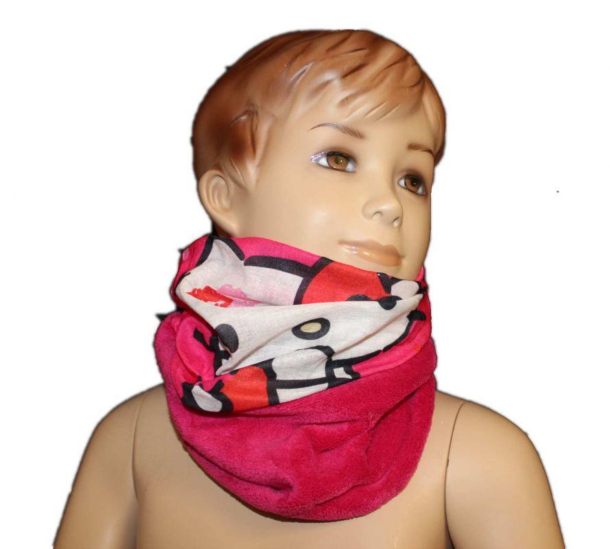 Šátek, nákrčník - HELLO KITTY - růžový Sanrio