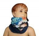Šátek, nákrčník - MICKEY MOUSE - modrý