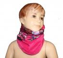 Šátek, nákrčník - MONSTER HIGH - růžový