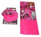 Šátek, nákrčník - MONSTER HIGH - růžový Mattel
