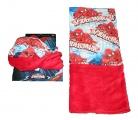 Šátek, nákrčník - SPIDERMAN - červeno-bílý Marvel