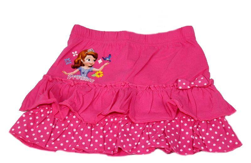 Sukně SOFIA - tm.růžová Disney
