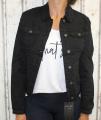 Dámská džínová bunda černá, letní džínová bunda, džínová elastická bunda, černá džíska, černá džínová bundička, pružná černá džíska | XS, S, M, L, XL