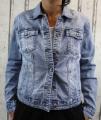 Dámská džínová bunda modrá, letní džínová bunda, džínová elastická bunda, pružná džíska, modrá džínová bundička, modrá džíska, velká džínová bunda, velká džíska, světle modrá džíska | M, L, XL, 2XL, 3XL