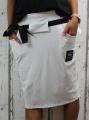 Dámská sukně, bavlněná sukně, sukně pod kolena, tepláková sukně, sukně se zavazováním, bílá sukně