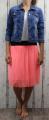 Dámská tylová sukně, tylová sukýnka, krátká tylová sukně, dámská letní sukně, oranžová tylovka