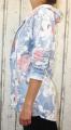 Dámské sako, dámský bavlněný kardigan kytky, dámský teplákový kardigan, dámská mikina, dámský bílý kardigan, světle modrý kardigan, kytkovaný kardigan