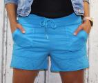 Dámské kraťasy, bavlněné kraťasy, modré kraťasy, teplákové kraťasy, dámské šortky,