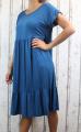 Dámské letní šaty, plážové šaty, pohodlné šaty, dámské dámské dlouhé šaty, dlouhé kovové šaty, velké šaty, šaty pro plnoštíhlé, vzdušné šaty, šaty pro silné postavy, šaty do A