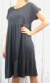Dámské letní šaty, plážové šaty, pohodlné šaty, dámské dámské dlouhé šaty, dlouhé černé šaty, velké šaty, šaty pro plnoštíhlé, vzdušné šaty, šaty pro silné postavy, šaty do A Italy Moda