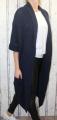 Dámský dlouhý pletený kardigan dámský dlouhý svetr, dlouhý letní svetr, dámský pletený kardigan, dámský pletený černý kardigan