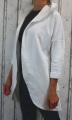 Dámské sako, dámský kardigan, teplákový kabátek, bavlněný kardigan, dámský kabát, dámský bílý kabátek, dámský bílý kardigan, dámská dlouhá mikina, dámský bavlněný přehoz, dámské sako