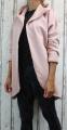 Dámské sako, dámský kardigan, teplákový kabátek, bavlněný kardigan, dámský kabát, dámský starorůžový kabátek, dámský růžový kardigan, dámská dlouhá mikina, dámský bavlněný přehoz, dámské sako