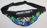 dětská ledvinka Minecraft, chlapecká ledvinka Minecraft, doplňky Minecraft, oblečení Minecraft, černá ledvinka Minecraft