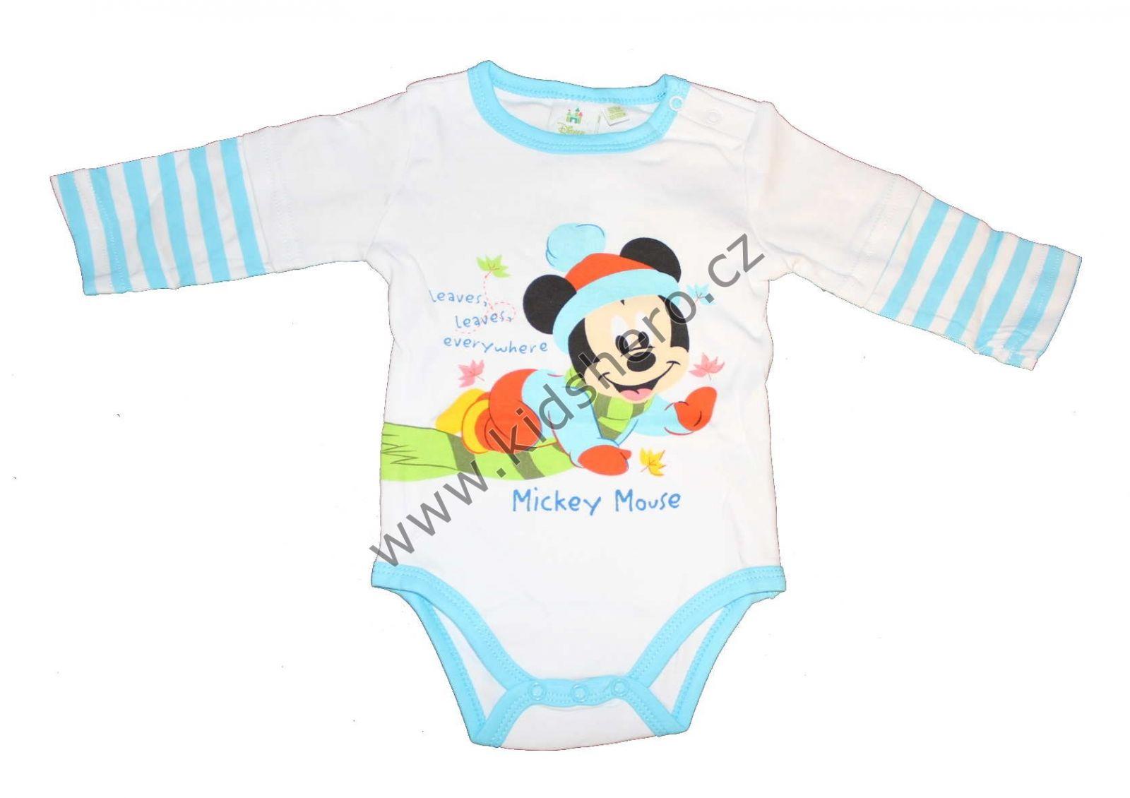 Body dlouhý rukáv MICKEY MOUSE Disney