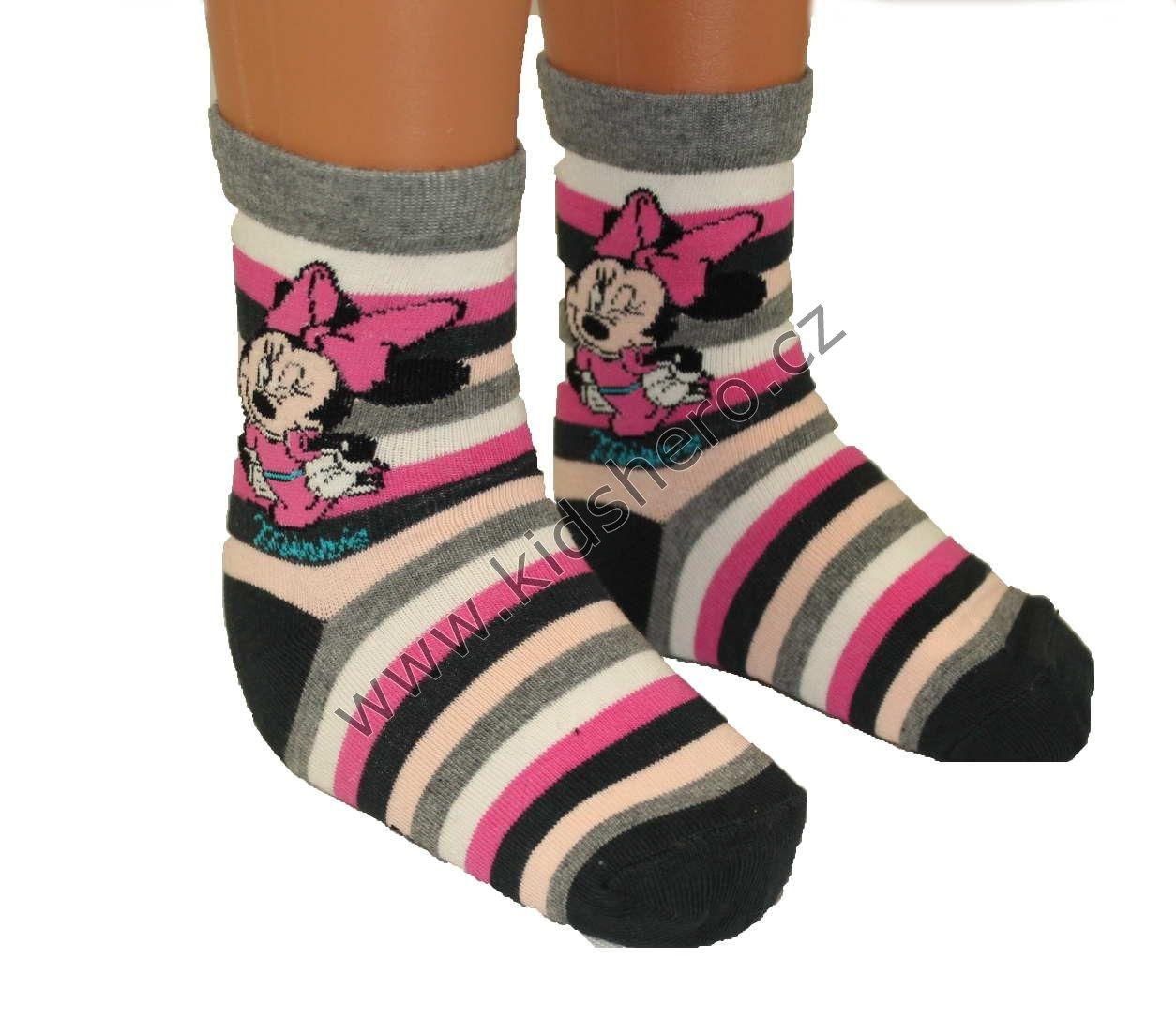 Dětské ponožky MINNIE DISNEY