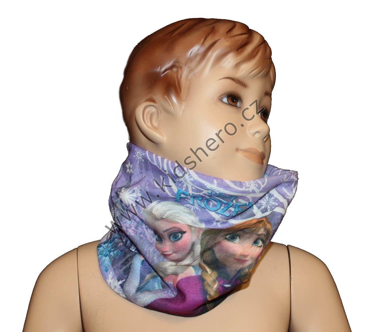 Dětský šátek, nákrčník - DISNEY- FROZEN