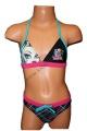Dvoudílné plavky MONSTER HIGH - růžové