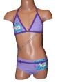 Dvoudílné plavky VIOLETTA - fialové