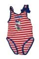 Jednodílné plavky MINNIE - červeno-modré