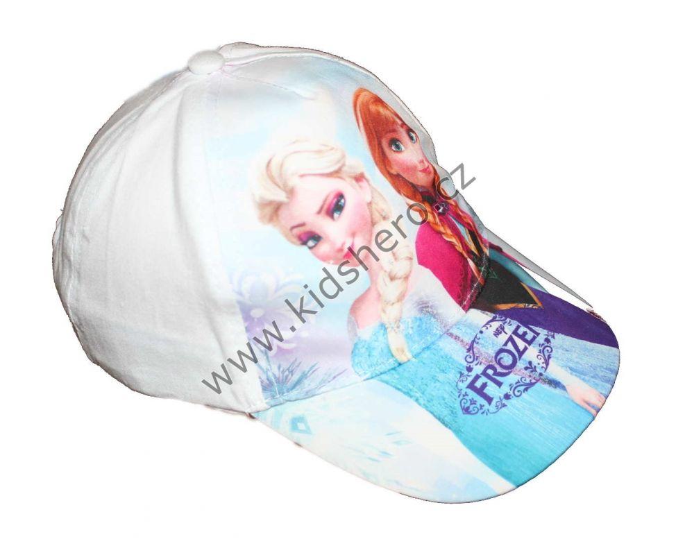 Kšiltovka FROZEN - bílá Disney