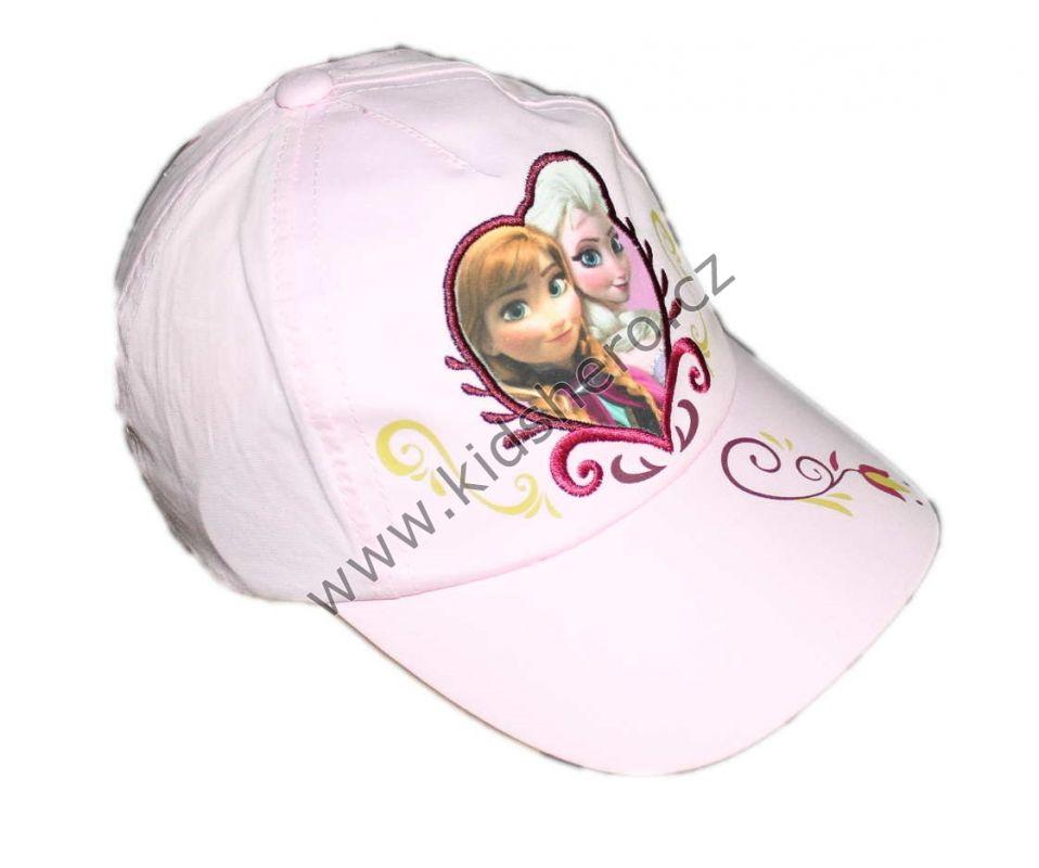 Kšiltovka FROZEN - sv.růžová Disney