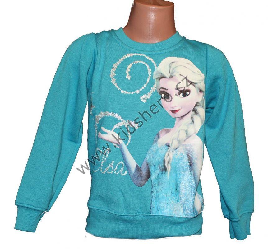 Mikina FROZEN - Ledové království - modrá Disney