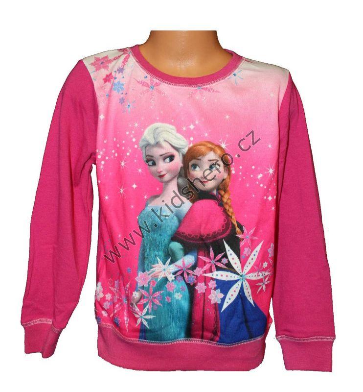 Mikina FROZEN - růžová Disney