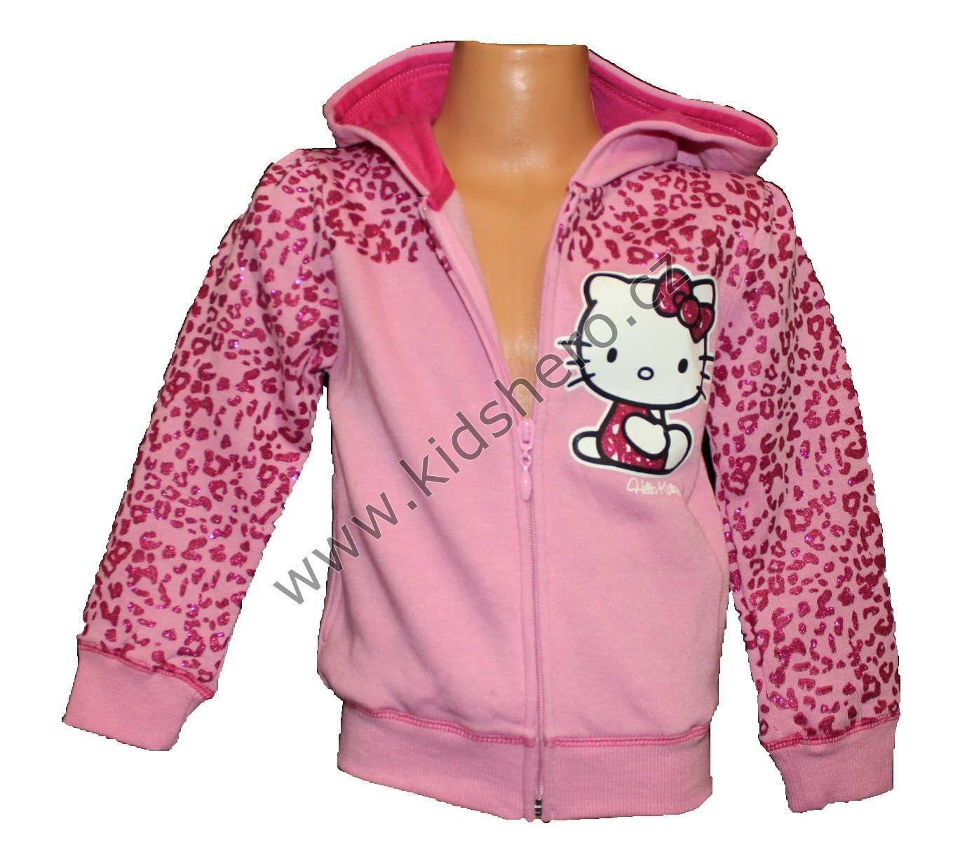 Mikina HELLO KITTY - růžová Sanrio