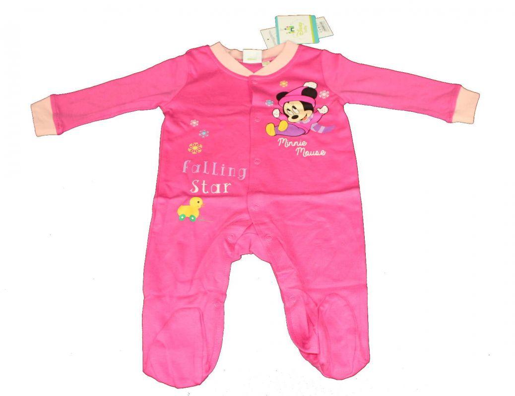 Overal, overálek, pyžamo DINSNEY-MINNIE - tm.růžové Disney