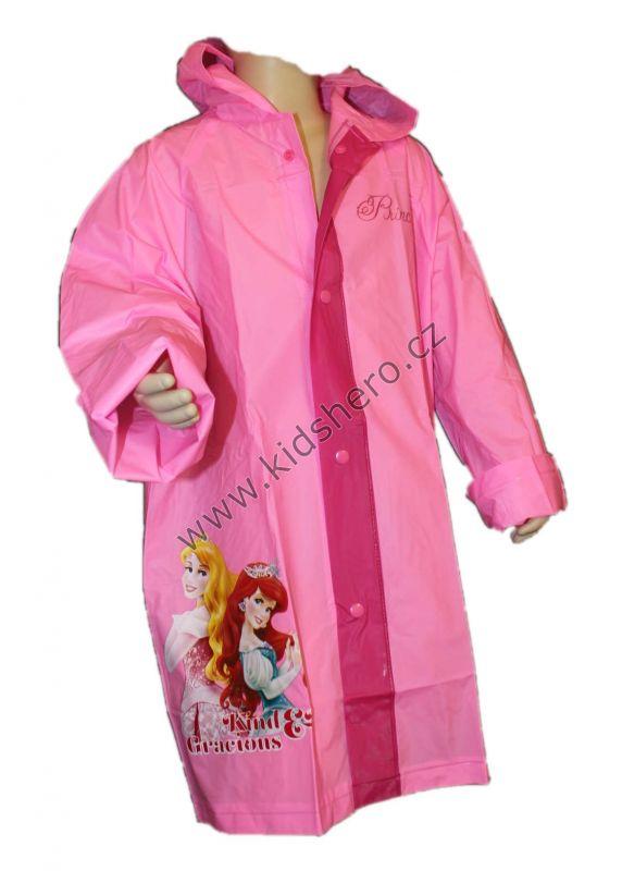Pláštěnka PRINCESS - sv.růžová Disney
