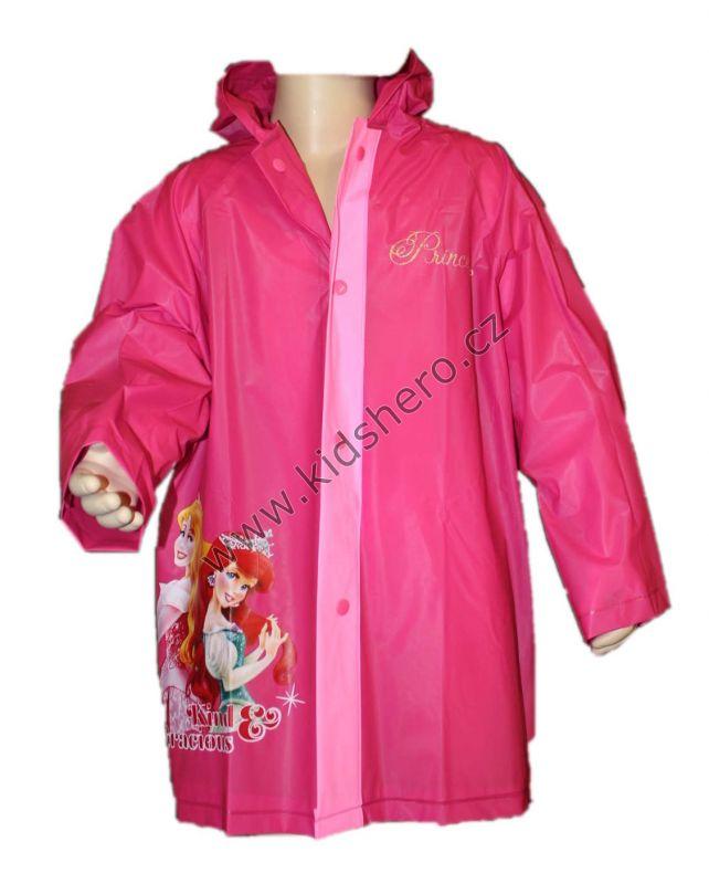 Pláštěnka PRINCESS - tm.růžová Disney
