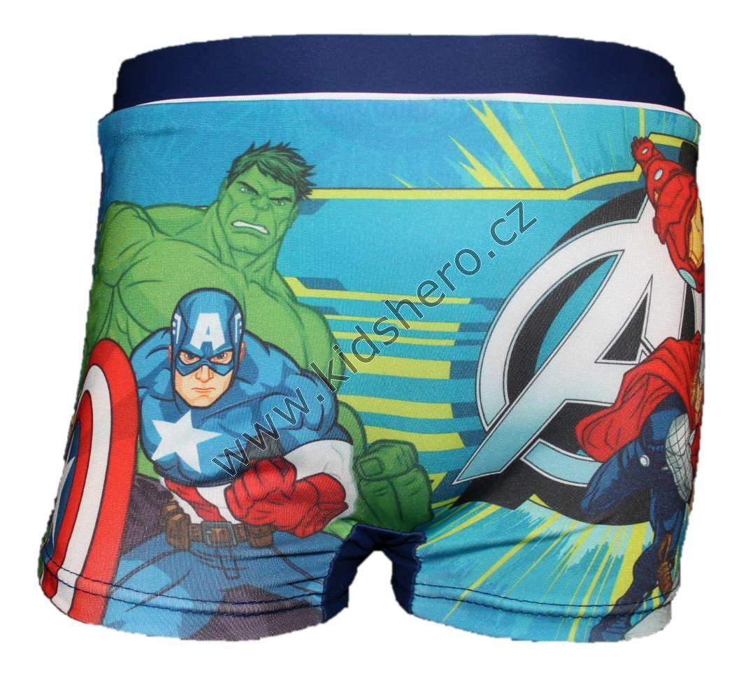 Dětské plavky AVENGERS - modré Marvel 384779fd18