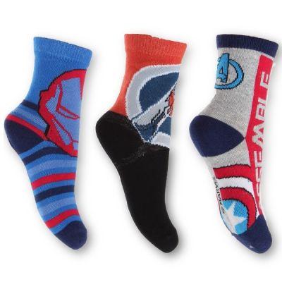 Ponožky AVENGERS - 3 ks Marvel