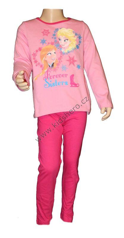 PYŽAMO - FROZEN - růžové Disney