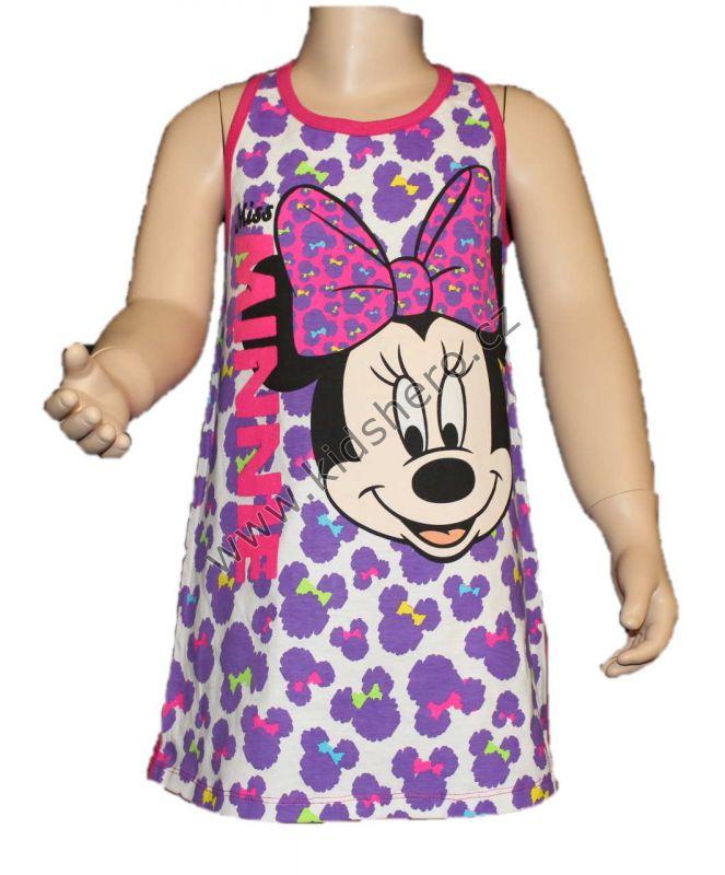 Šaty MINNIE - růžovo-fialové Disney