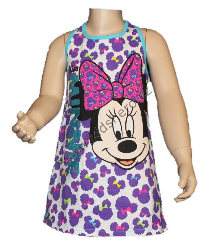 Šaty MINNIE - tyrkysové Disney