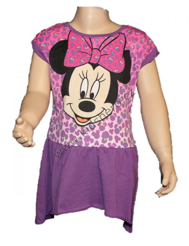 Šaty, tunika MINNIE - fialová Disney