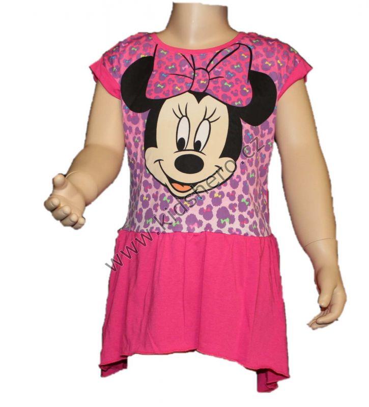 Šaty, tunika MINNIE - růžová Disney
