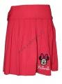 Skládaná sukně MINNIE - červená