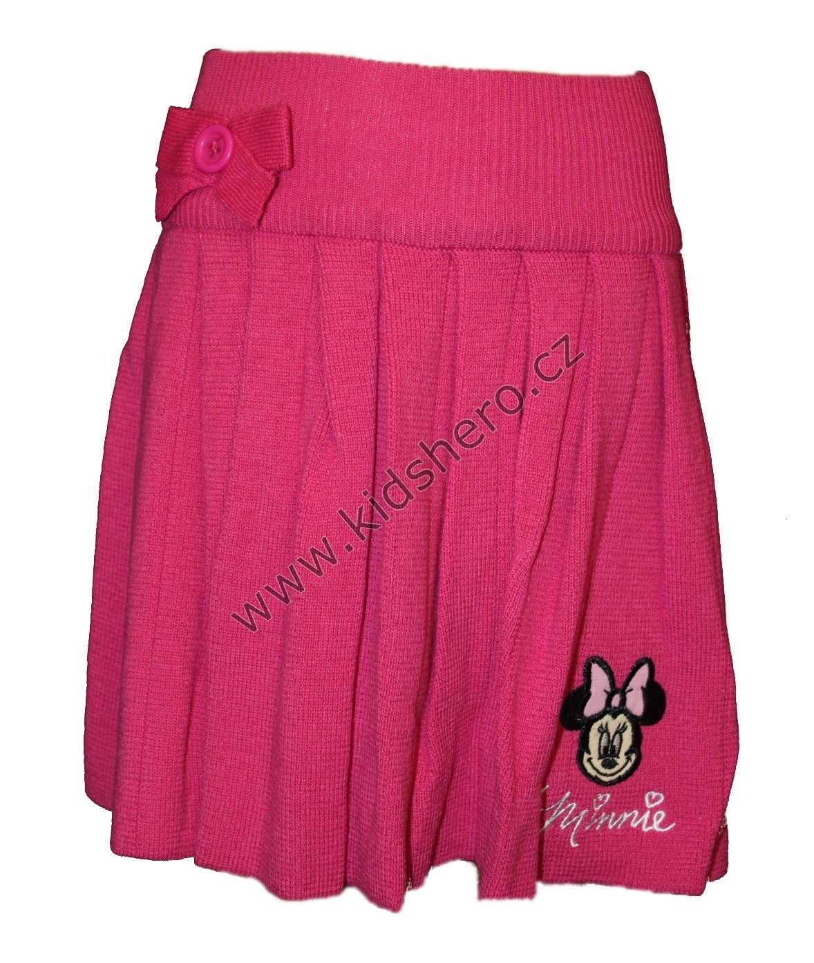 Skládaná sukně MINNIE - růžová Disney